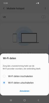 Samsung galaxy-s10-plus-dual-sim-sm-g975f - WiFi - Mobiele hotspot instellen - Stap 7