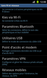 Samsung I8530 Galaxy Beam - Réseau - utilisation à l'étranger - Étape 8