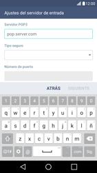 LG K10 4G - E-mail - Configurar correo electrónico - Paso 10