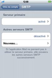 Apple iPhone 3G S - E-mail - Configuration manuelle - Étape 13