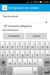 Alcatel Pixi 3 Dual Sim - E-mails - Ajouter ou modifier un compte e-mail - Étape 16