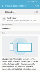 Samsung Galaxy S7 - Internet et connexion - Partager votre connexion en Wi-Fi - Étape 6