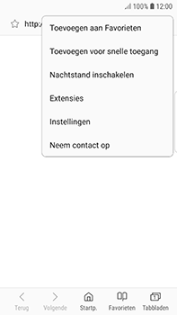 Samsung Galaxy S7 Edge - Android Oreo - Internet - buitenland - Stap 24