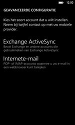 Nokia Lumia 920 LTE - E-mail - Handmatig instellen - Stap 8