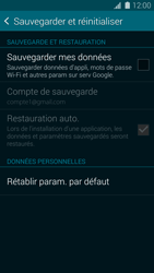 Samsung Galaxy S5 G900F - Device maintenance - Back up - Étape 7