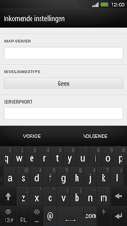 HTC One - E-mail - Account instellen (IMAP met SMTP-verificatie) - Stap 10