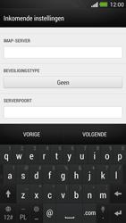 HTC One - E-mail - e-mail instellen: IMAP (aanbevolen) - Stap 10