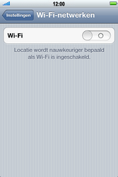 Apple iPhone 4 S - Wifi - handmatig instellen - Stap 4