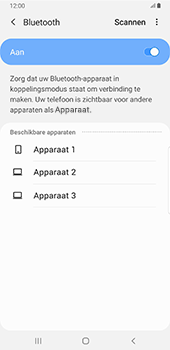 Samsung Galaxy S8+ - Android Pie (SM-G955F) - Bluetooth - Headset, carkit verbinding - Stap 7