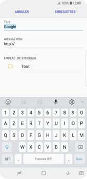 Samsung Galaxy S9 - Internet - navigation sur Internet - Étape 8