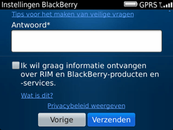 BlackBerry 9900 Bold Touch - BlackBerry activeren - BlackBerry ID activeren - Stap 11