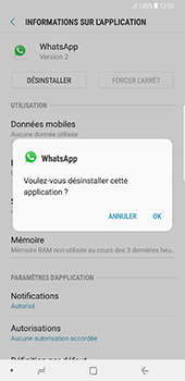 Samsung Galaxy Note 8 - Applications - Supprimer une application - Étape 7