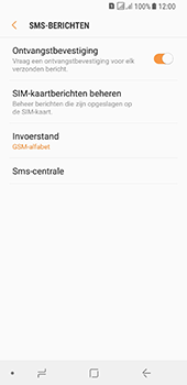Samsung galaxy-a8-2018-sm-a530f-android-oreo - SMS - SMS-centrale instellen - Stap 11