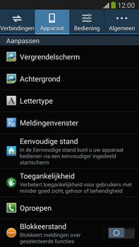 Samsung N9005 Galaxy Note III LTE - Voicemail - handmatig instellen - Stap 5