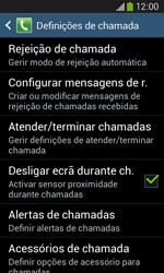 Samsung Galaxy Ace 3 LTE - Chamadas - Como bloquear chamadas de um número -  6