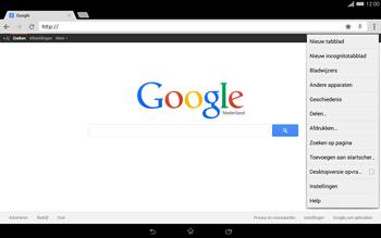 Sony Xperia Tablet Z2 (SGP521) - Internet - internetten - Stap 9