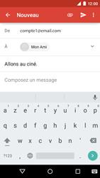 Motorola Moto E (1st Gen) (Lollipop) - E-mails - Envoyer un e-mail - Étape 8