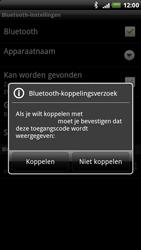 HTC X515m EVO 3D - Bluetooth - koppelen met ander apparaat - Stap 10