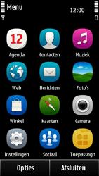 Nokia 500 - Voicemail - Handmatig instellen - Stap 3