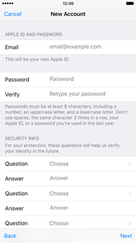 Apple iPhone 6s Plus - Applications - Create an account - Step 12