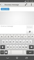 Sony Xpéria T3 - Contact, Appels, SMS/MMS - Envoyer un MMS - Étape 7