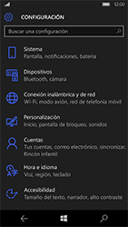 Microsoft Lumia 950 - Red - Seleccionar una red - Paso 4