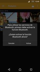 Sony Xperia M5 (E5603) - Bluetooth - Transferir archivos a través de Bluetooth - Paso 10