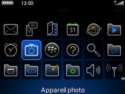 BlackBerry curve 3G - Photos, vidéos, musique - Prendre une photo - Étape 3