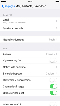 Apple iPhone 6 Plus iOS 9 - E-mail - 032a. Email wizard - Gmail - Étape 11