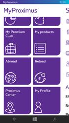 Nokia Lumia 735 - Applications - MyProximus - Step 20