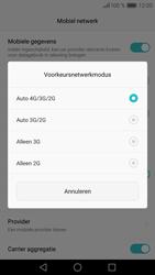 Huawei P9 - Netwerk - Wijzig netwerkmodus - Stap 7