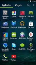 Acer Liquid Z410 - SMS - Configuration manuelle - Étape 3