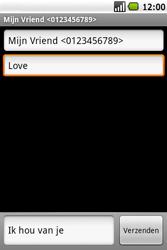 Samsung I5700 Galaxy Spica - MMS - Afbeeldingen verzenden - Stap 8