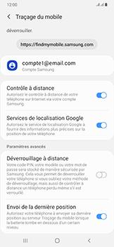 Samsung Galaxy A50 - Appareil - configurer Localiser mon appareil - Étape 9
