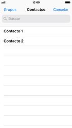 Apple iPhone SE iOS 11 - Mensajería - Escribir y enviar un mensaje multimedia - Paso 5