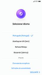 Huawei P8 Lite (2017) - Primeiros passos - Como ligar o telemóvel pela primeira vez -  5