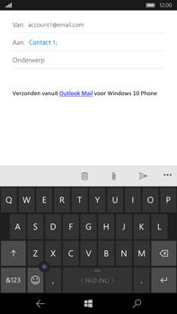 Microsoft Lumia 950 XL - E-mail - e-mail versturen - Stap 6