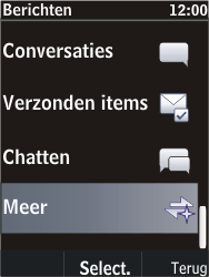 Nokia C2-05 - SMS en MMS - Handmatig instellen - Stap 4