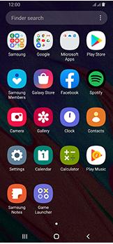 Samsung Galaxy A40 - Applications - Create an account - Step 3