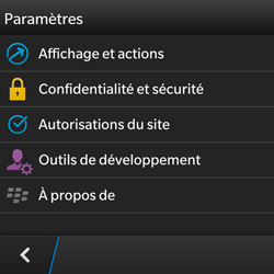 BlackBerry Q5 - Internet - configuration manuelle - Étape 17