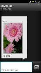Sony Xperia J - Mensajería - Escribir y enviar un mensaje multimedia - Paso 17