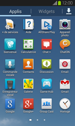 Samsung Galaxy S2 - Applications - Personnaliser l