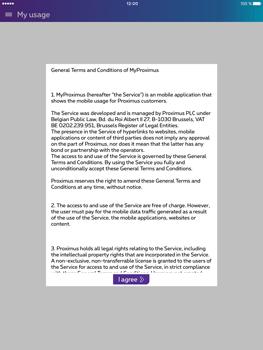 Apple iPad Pro (9.7) - Applications - MyProximus - Step 13