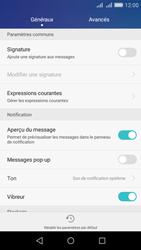 Huawei Y6 - SMS - Configuration manuelle - Étape 5