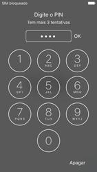 Apple iPhone 5s iOS 9 - Primeiros passos - Como ligar o telemóvel pela primeira vez -  5