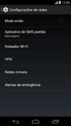 Motorola Moto G - Rede móvel - Como ativar e desativar o modo avião no seu aparelho - Etapa 5