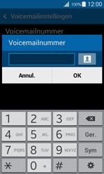 Samsung G357 Galaxy Ace 4 - Voicemail - handmatig instellen - Stap 8