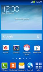 Samsung Galaxy Ace 3 LTE - Aplicações - Como configurar o WhatsApp -  1