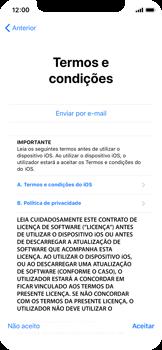 Apple iPhone X - Primeiros passos - Como ligar o telemóvel pela primeira vez -  19
