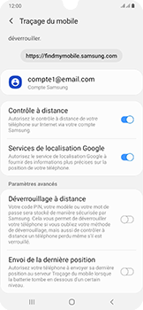 Samsung Galaxy A50 - Appareil - configurer Localiser mon appareil - Étape 8